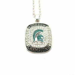 USA Michigan State Spartans 2013 Pendant Necklace